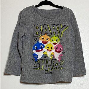 Jumping Beans baby shark long sleeve shirt